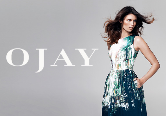 OJAY's e-commerce website design, an Australian brand that sells women clothing
